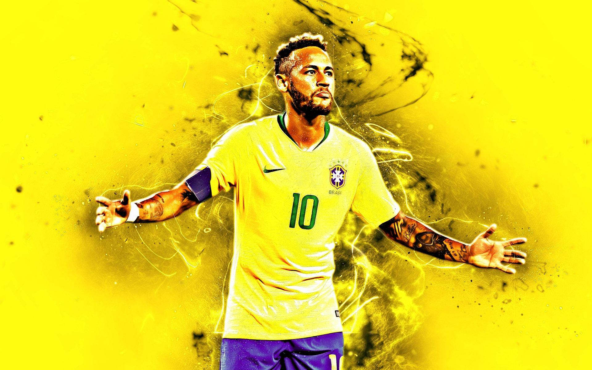 Cool Wallpapers Brazil Football: Neymar Jr - Brazil HD Wallpaper