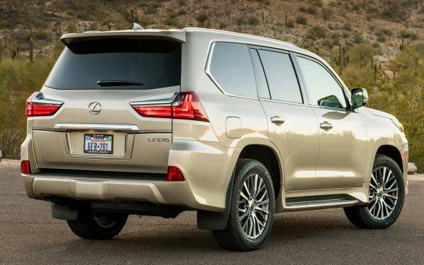 Véhicules Lexus LX Lexus Lexus LX 570 Full-Size Car SUV Luxury Car Silver Car Voiture Fond d'écran HD | Image