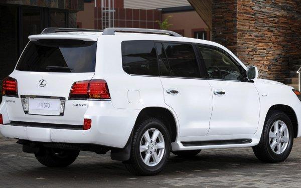 Véhicules Lexus LX Lexus Lexus LX 570 Full-Size Car SUV Luxury Car White Car Voiture Fond d'écran HD | Image
