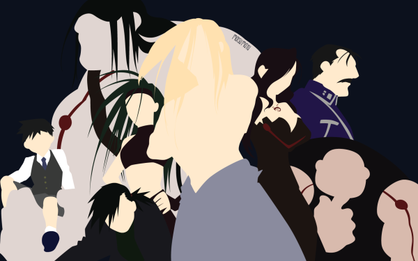Anime FullMetal Alchemist Fullmetal Alchemist Father Envy King Bradley Greed Selim Bradley Gluttony Wrath Lust HD Wallpaper | Background Image