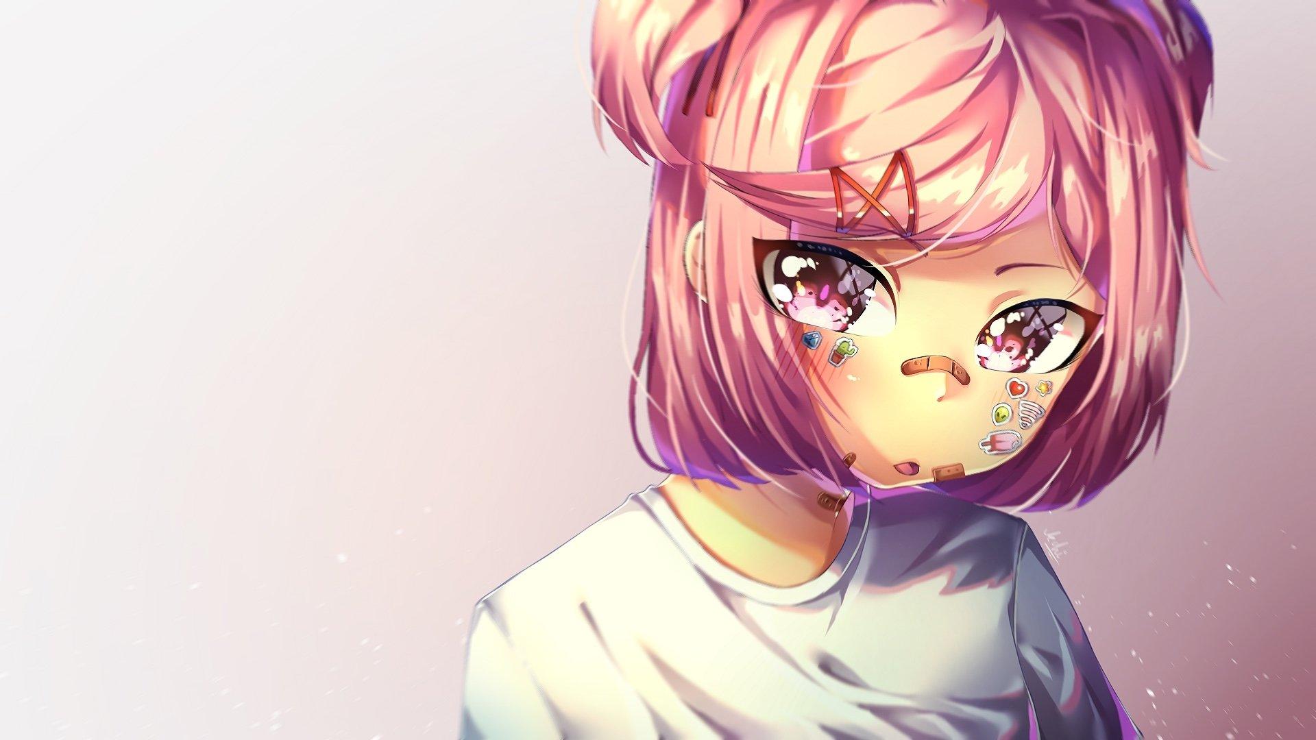 Doki Doki Literature Club Hd Wallpaper Background Image