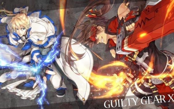 Video Game Guilty Gear Xrd -SIGN- Guilty Gear Sol Badguy Ky Kiske HD Wallpaper | Background Image