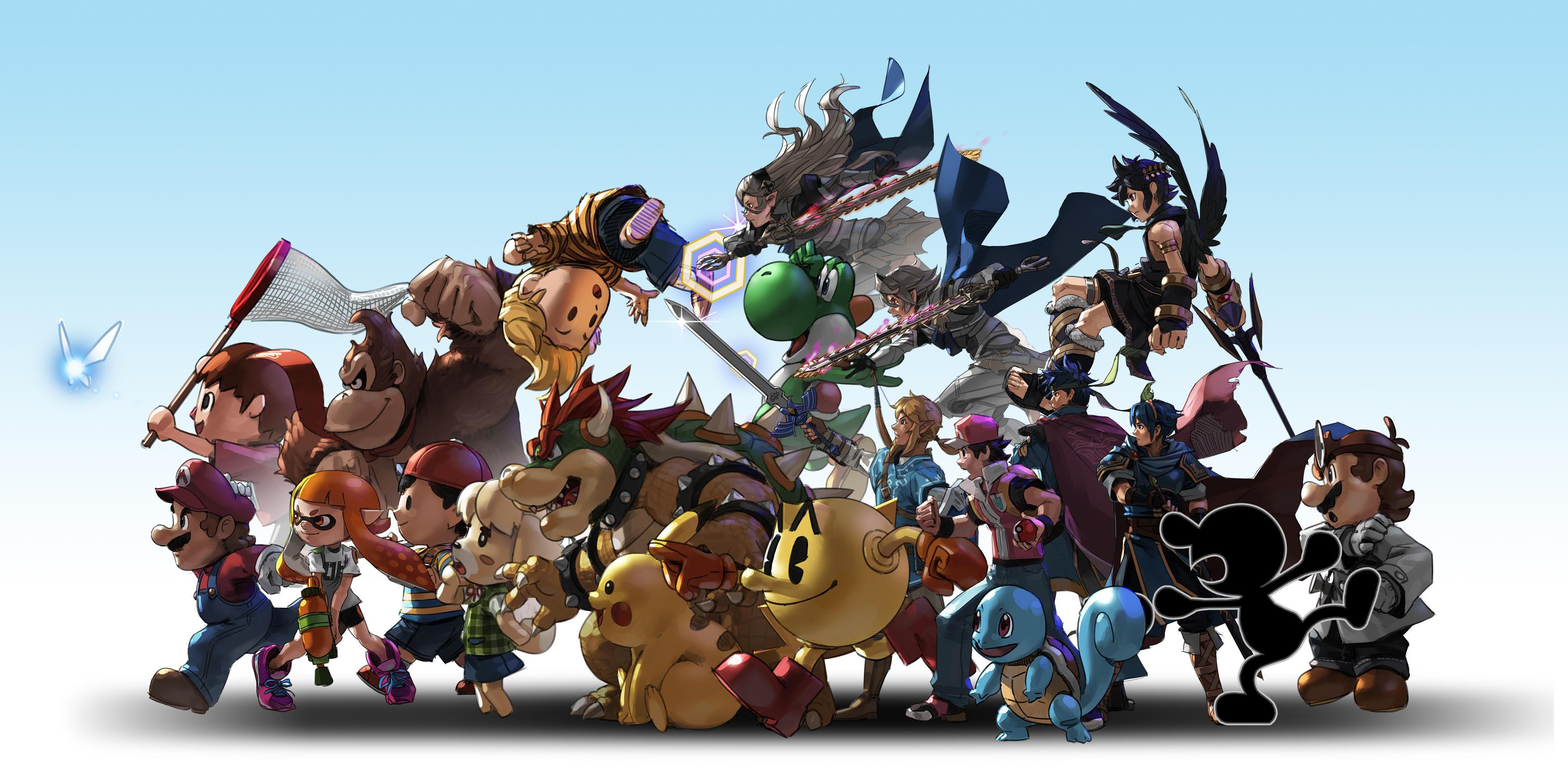 Super Smash Bros. Ultimate HD Wallpaper   Background Image ...