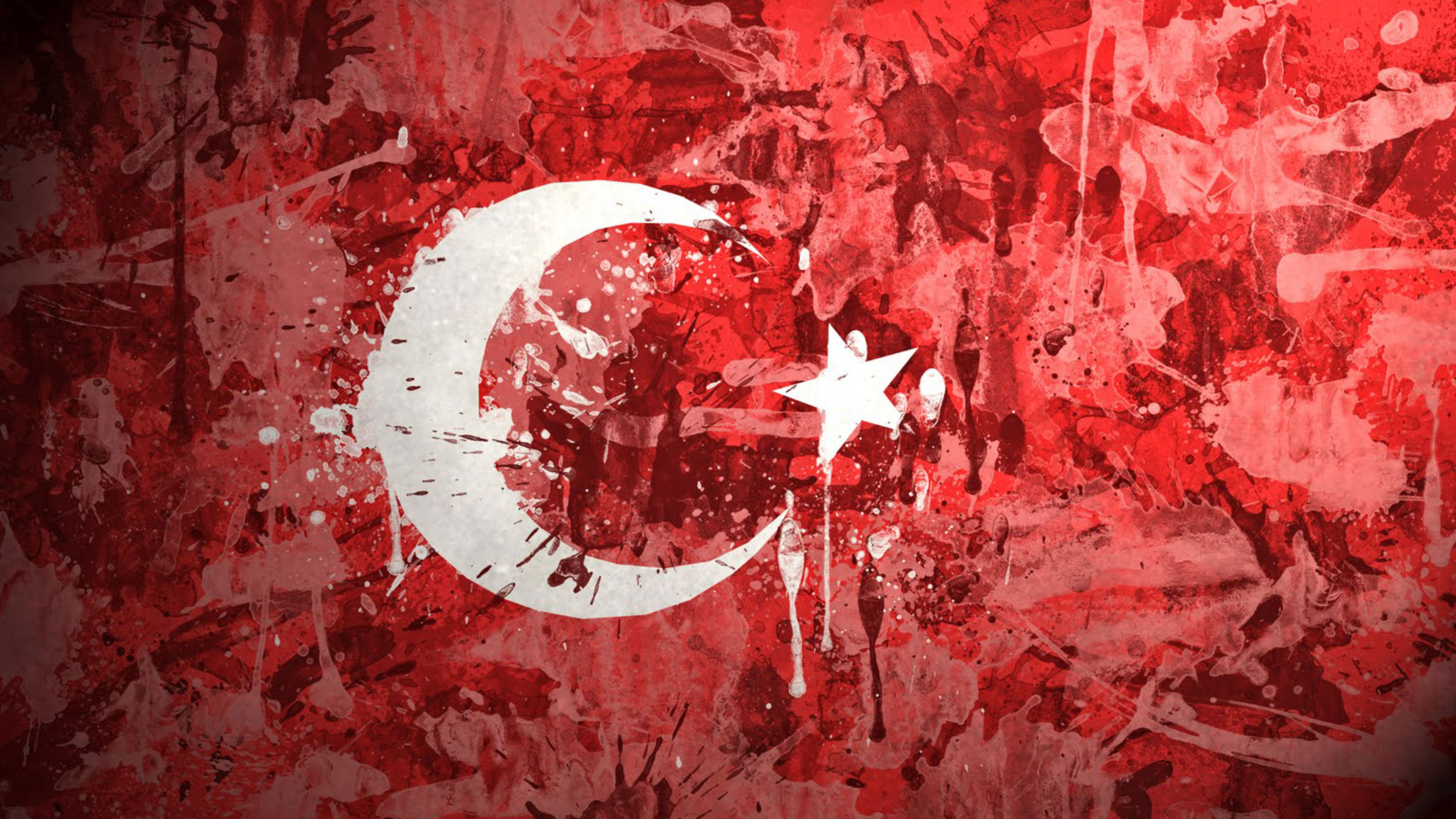 Flag Of Turkey 4k Ultra Fondo De Pantalla Hd Fondo De