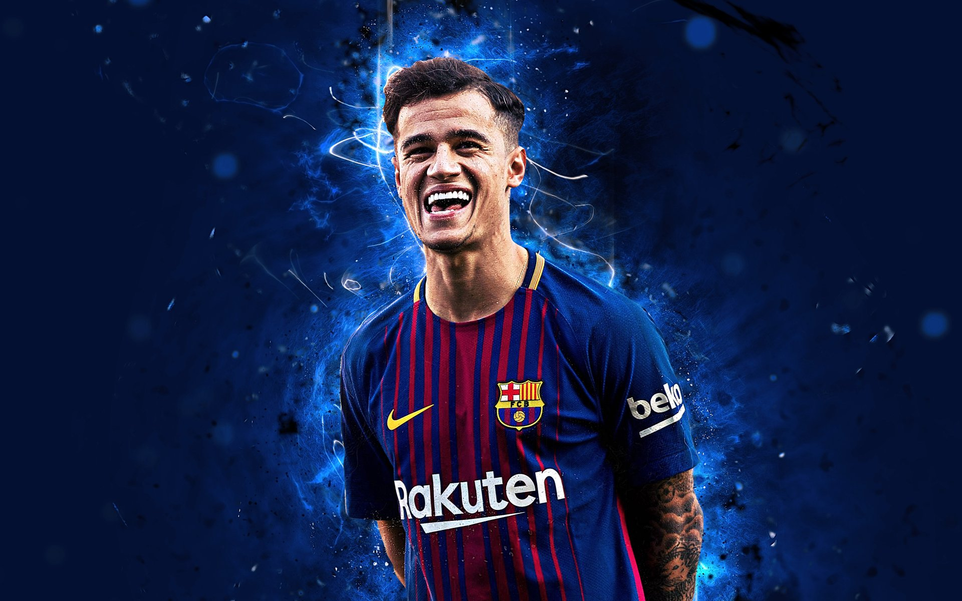 20 4K Ultra HD Philippe Coutinho Wallpapers