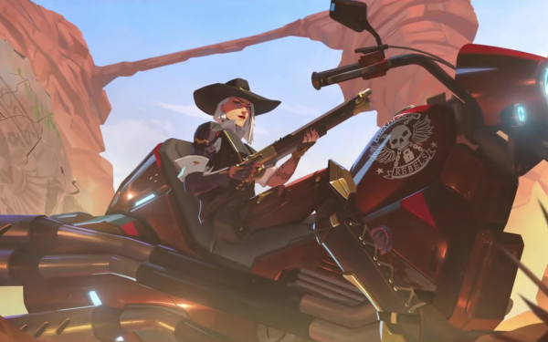 Video Game Overwatch Ashe HD Wallpaper   Background Image