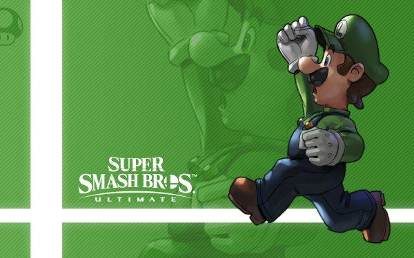 Video Game Super Smash Bros. Ultimate Luigi HD Wallpaper | Background Image