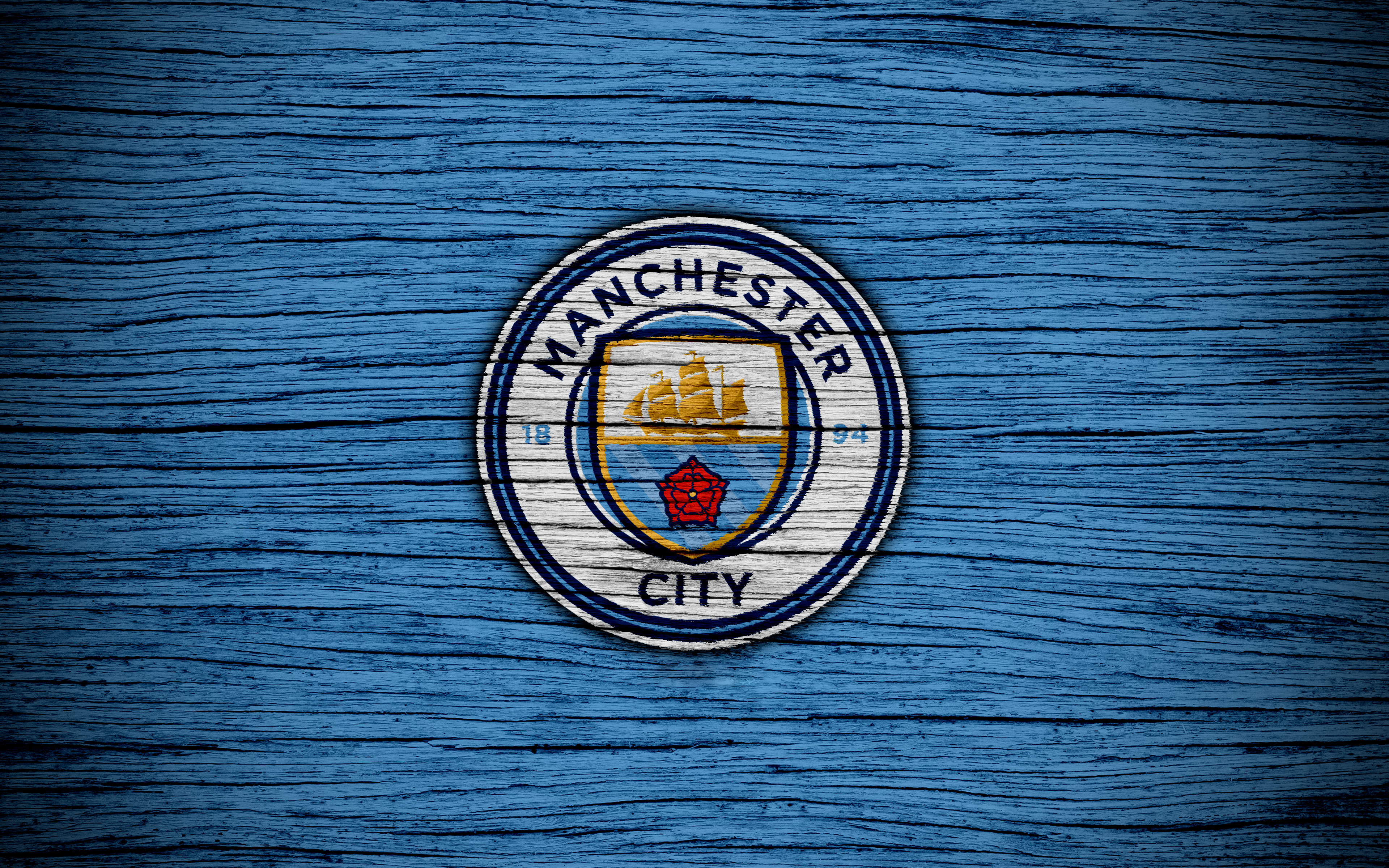 Manchester City Logo 4k Ultra HD Wallpaper | Background ...