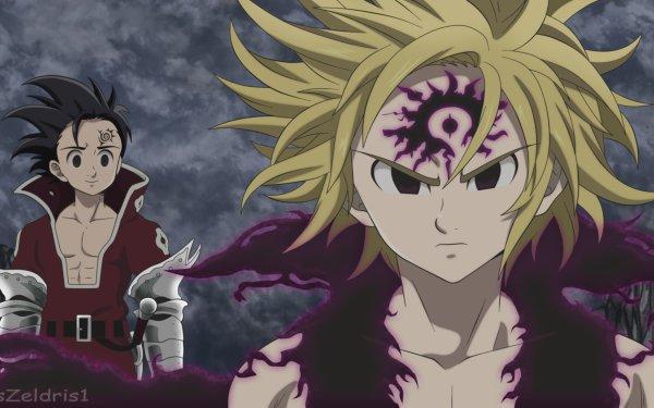 Anime The Seven Deadly Sins Zeldris Meliodas HD Wallpaper   Background Image