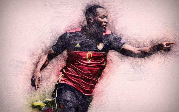 Sports Romelu Lukaku Soccer Player Belgian HD Wallpaper | Background Image