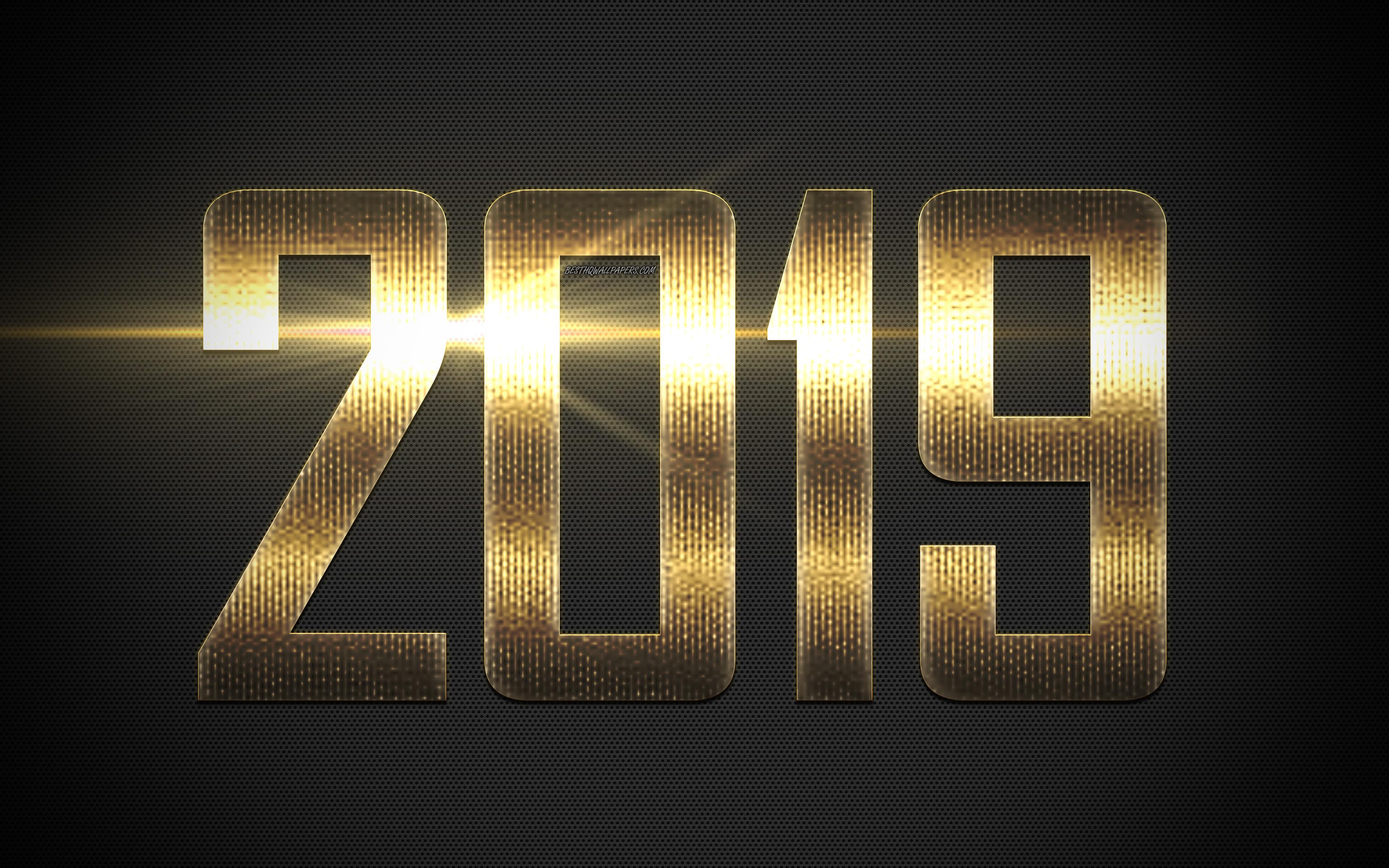 New Year 2019 4k Ultra HD Wallpaper  Background Image  3840x2400