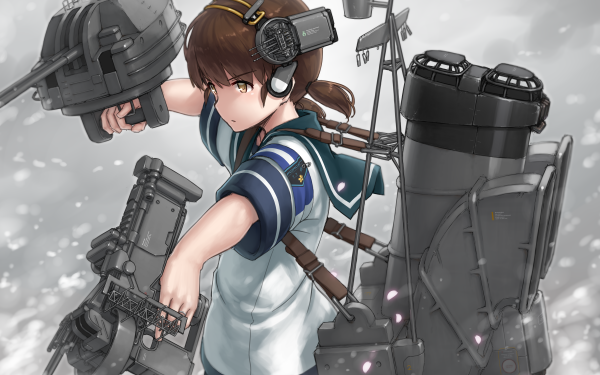 Anime Kantai Collection Shirayuki HD Wallpaper | Background Image