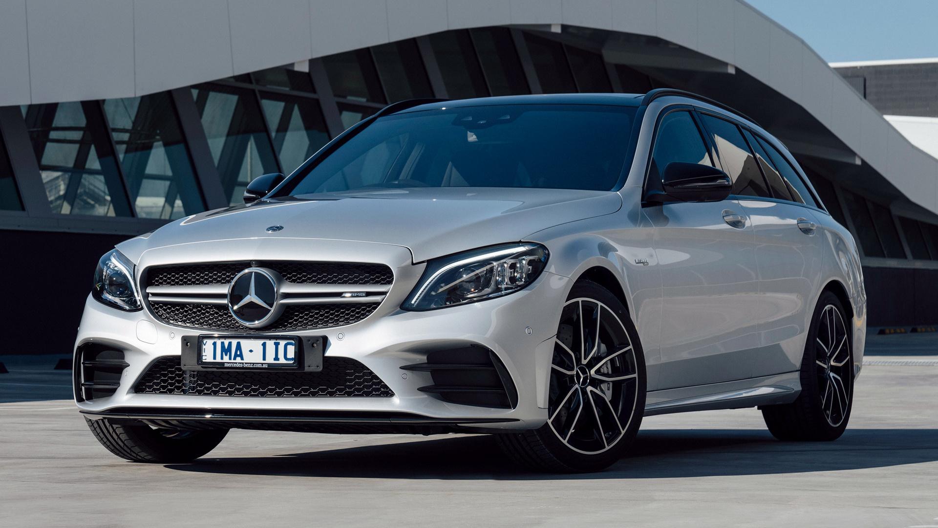 Get Mercedes Benz C200 Amg Wallpaper PNG