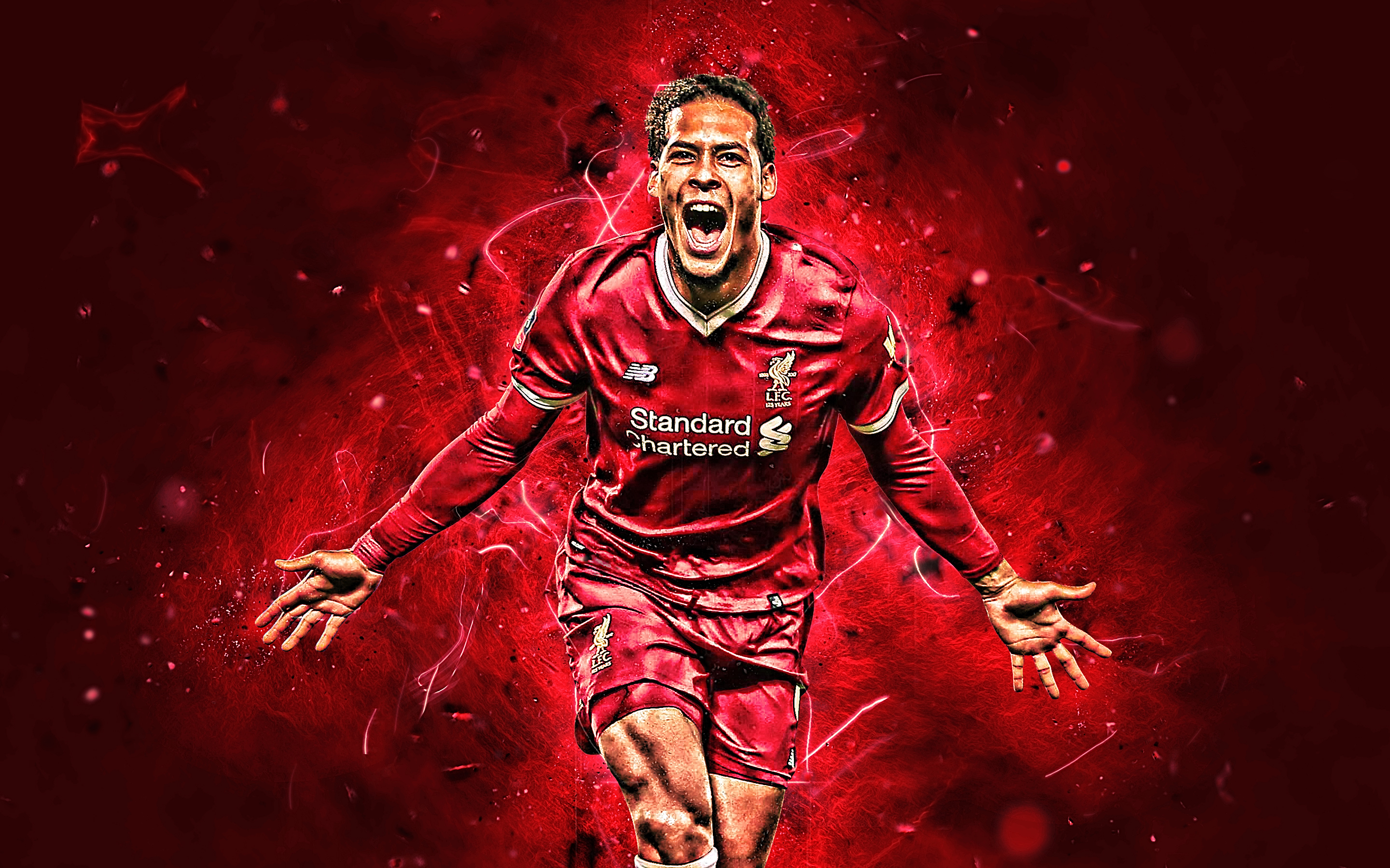 Virgil Van Dijk HD Wallpaper