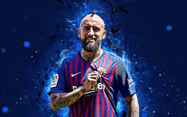Sports Arturo Vidal Soccer Player Chilean FC Barcelona HD Wallpaper | Background Image