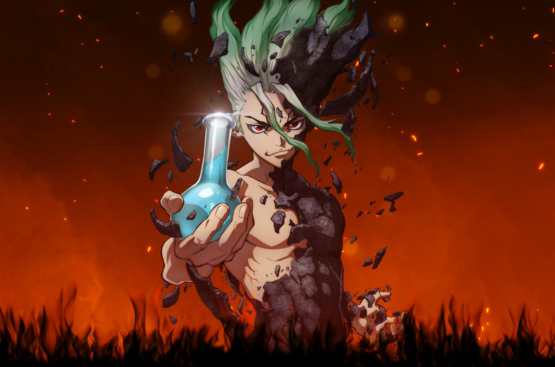 57 Dr Stone Hd Wallpapers Background Images Wallpaper Abyss