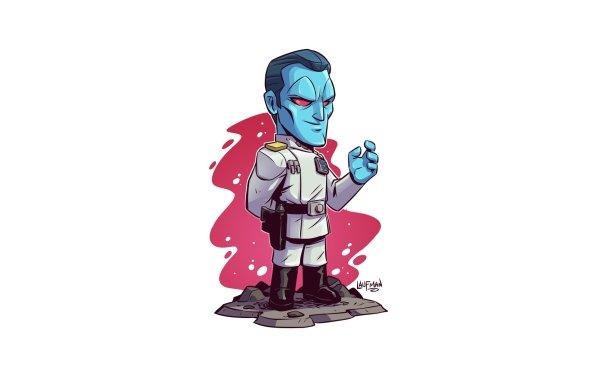 Sci Fi Star Wars Grand Admiral Thrawn HD Wallpaper | Background Image