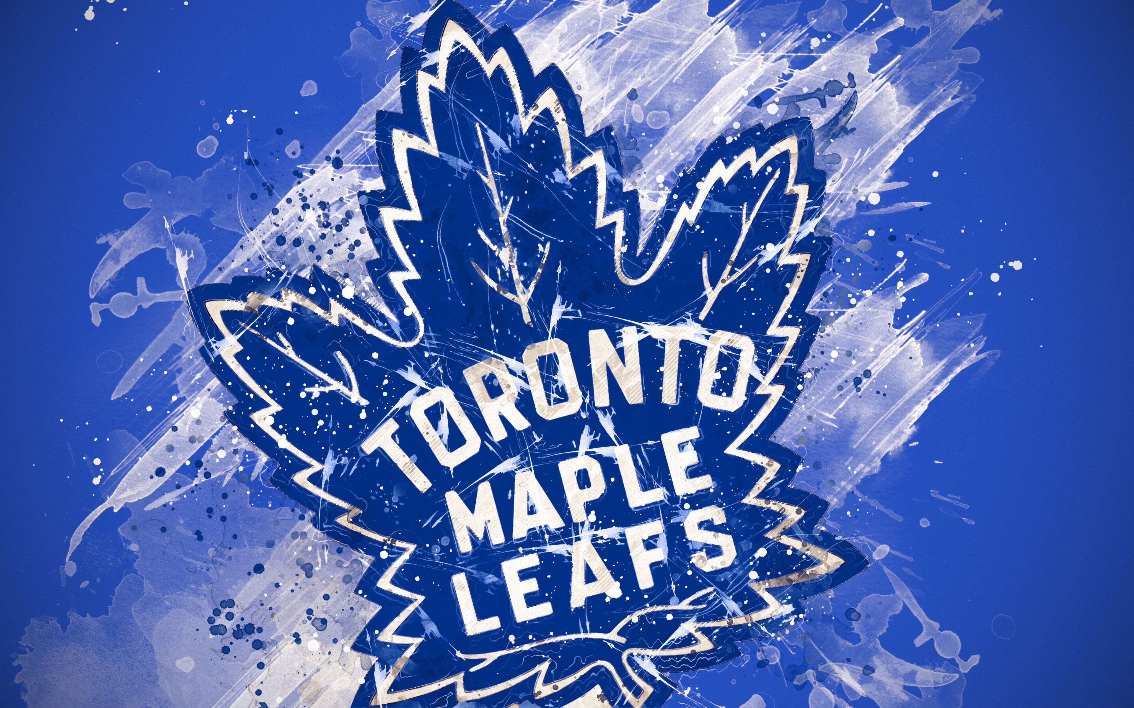 Toronto Maple Leafs 4k Ultra Hd Wallpaper Background Image
