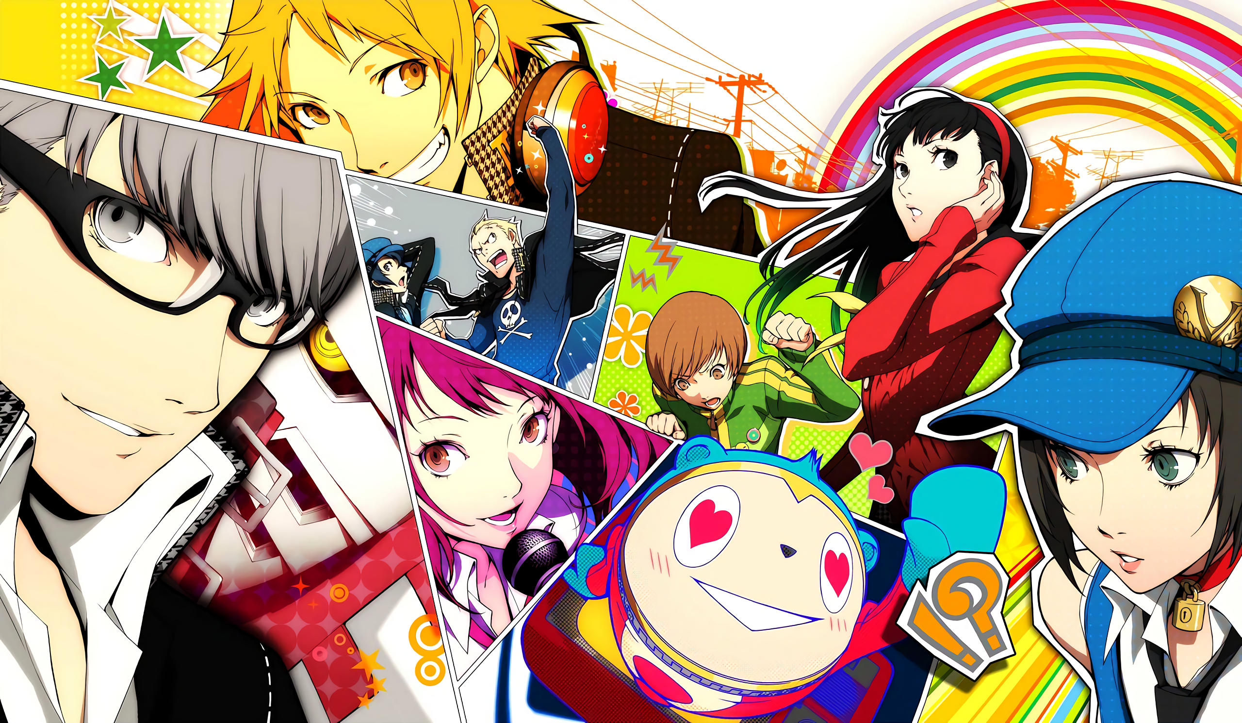 Persona 4 Golden HD Wallpaper | Background Image ...