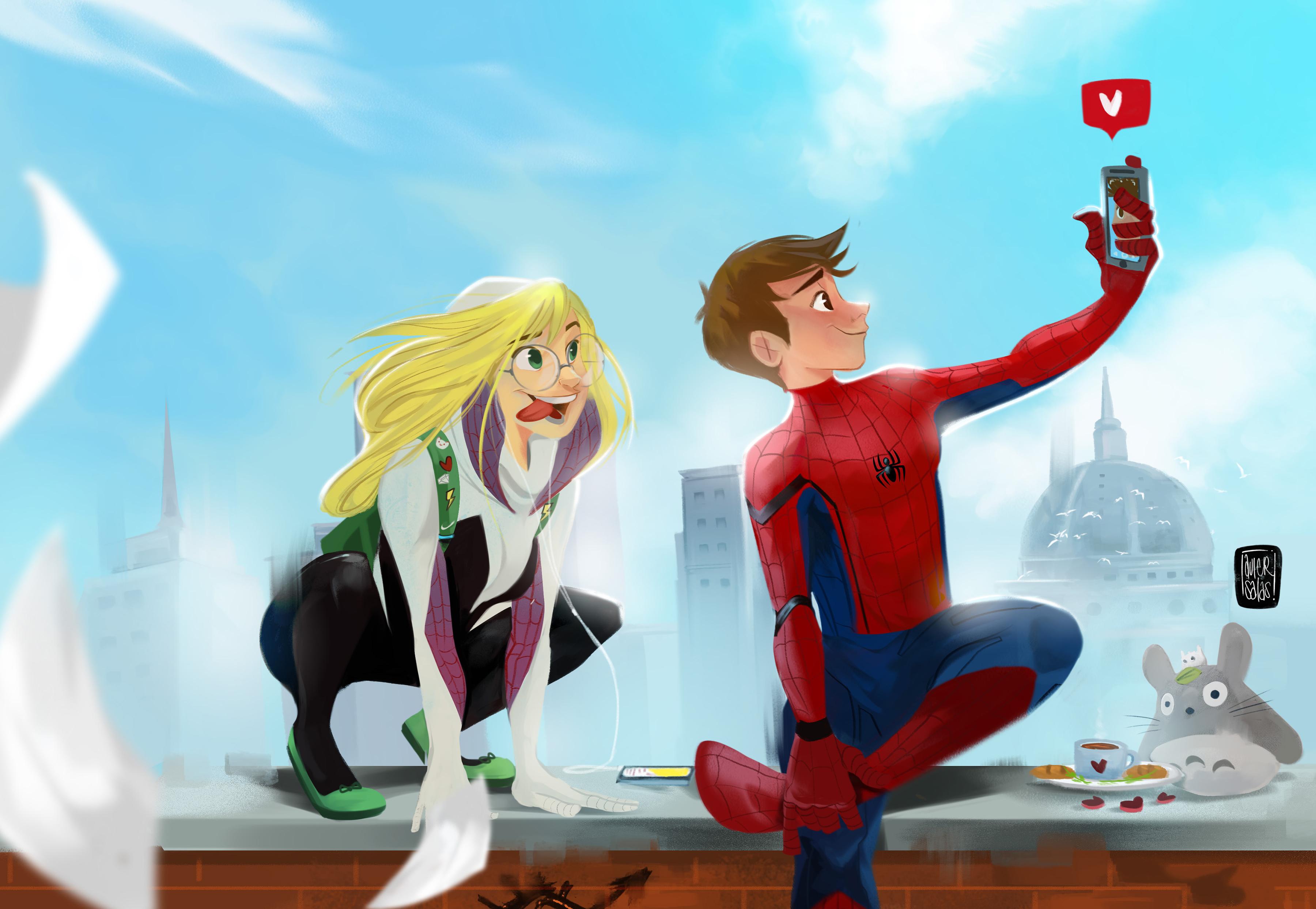 Spider Man Un Nuevo Universo Fondo De Pantalla Hd Fondo De
