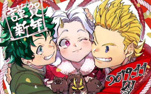 Anime My Hero Academia Mirio Togata Izuku Midoriya Eri HD Wallpaper | Background Image