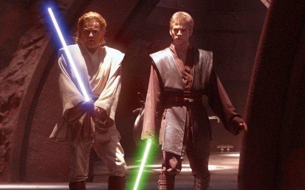 Movie Star Wars Episode II: Attack Of The Clones Star Wars Obi-Wan Kenobi Anakin Skywalker Ewan McGregor Hayden Christensen HD Wallpaper | Background Image