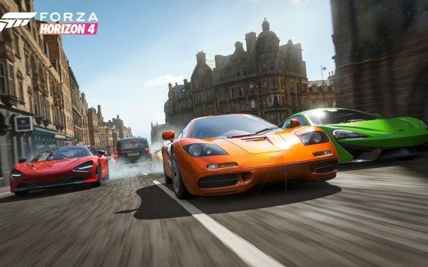 Video Game Forza Horizon 4 Forza McLaren F1 McLaren 570S McLaren 720S HD Wallpaper | Background Image