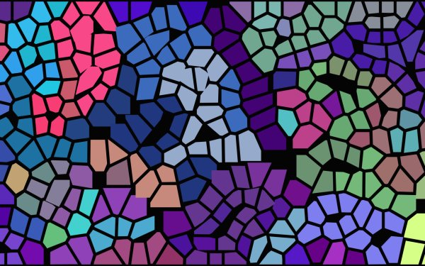 Abstract Colors Mosaic Colorful Artistic HD Wallpaper | Background Image