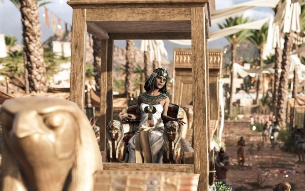 Video Game Assassin's Creed Origins Assassin's Creed Cleopatra HD Wallpaper   Background Image