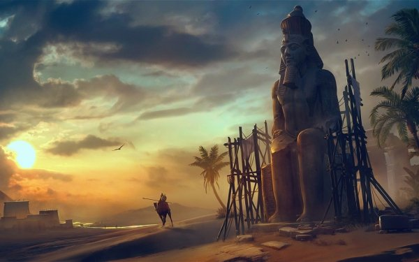 Video Game Assassin's Creed Origins Assassin's Creed HD Wallpaper | Background Image