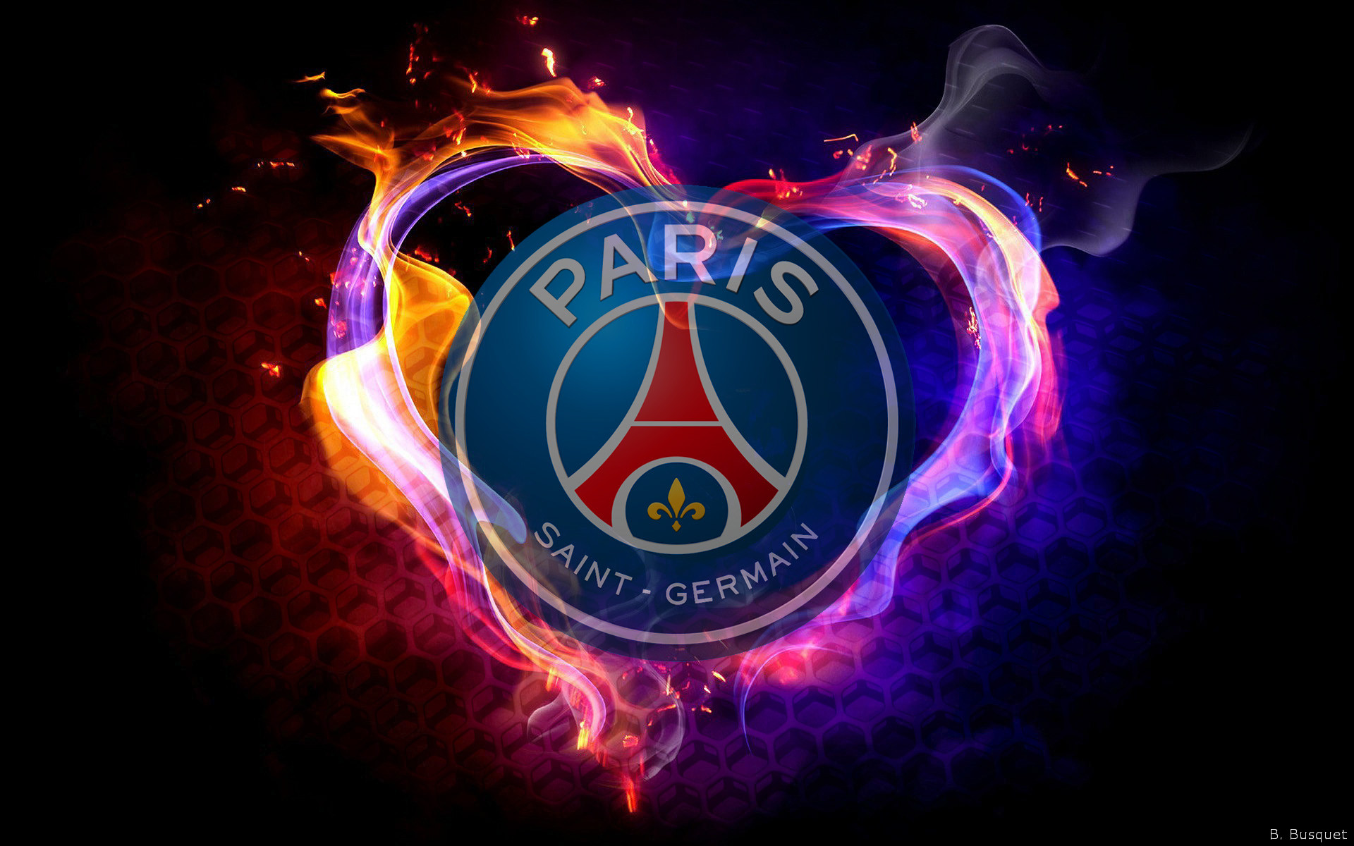 Paris Saint-Germain F.C. Fond d'écran HD | Arrière-Plan ...