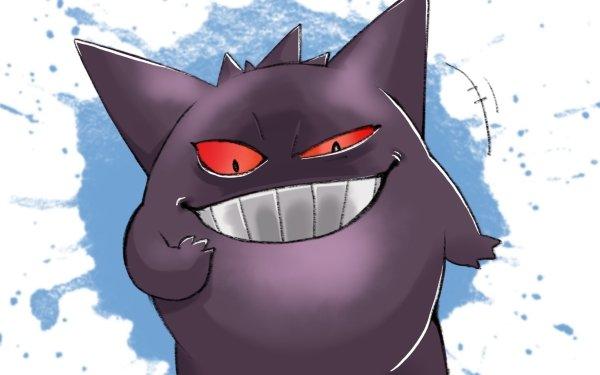 Anime Pokémon Gengar HD Wallpaper   Background Image