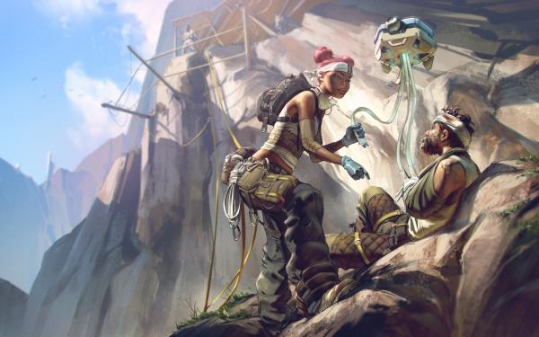Video Game Apex Legends Lifeline HD Wallpaper   Background Image