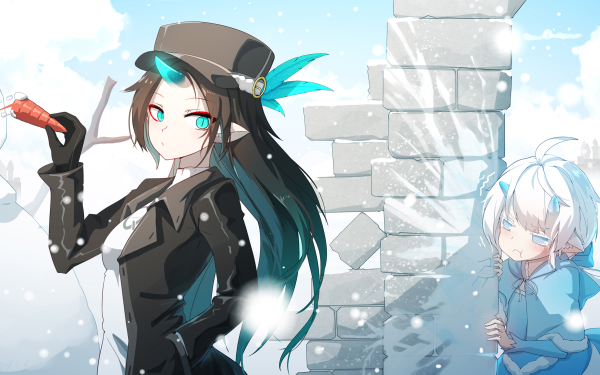 Anime Pixiv Fantasia Last Saga HD Wallpaper   Background Image