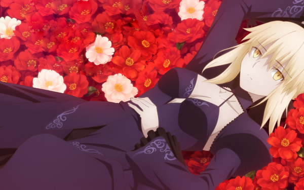 Anime Fate/stay Night Movie: Heaven's Feel Fate Series Saber Alter Fate/Grand Order HD Wallpaper | Background Image