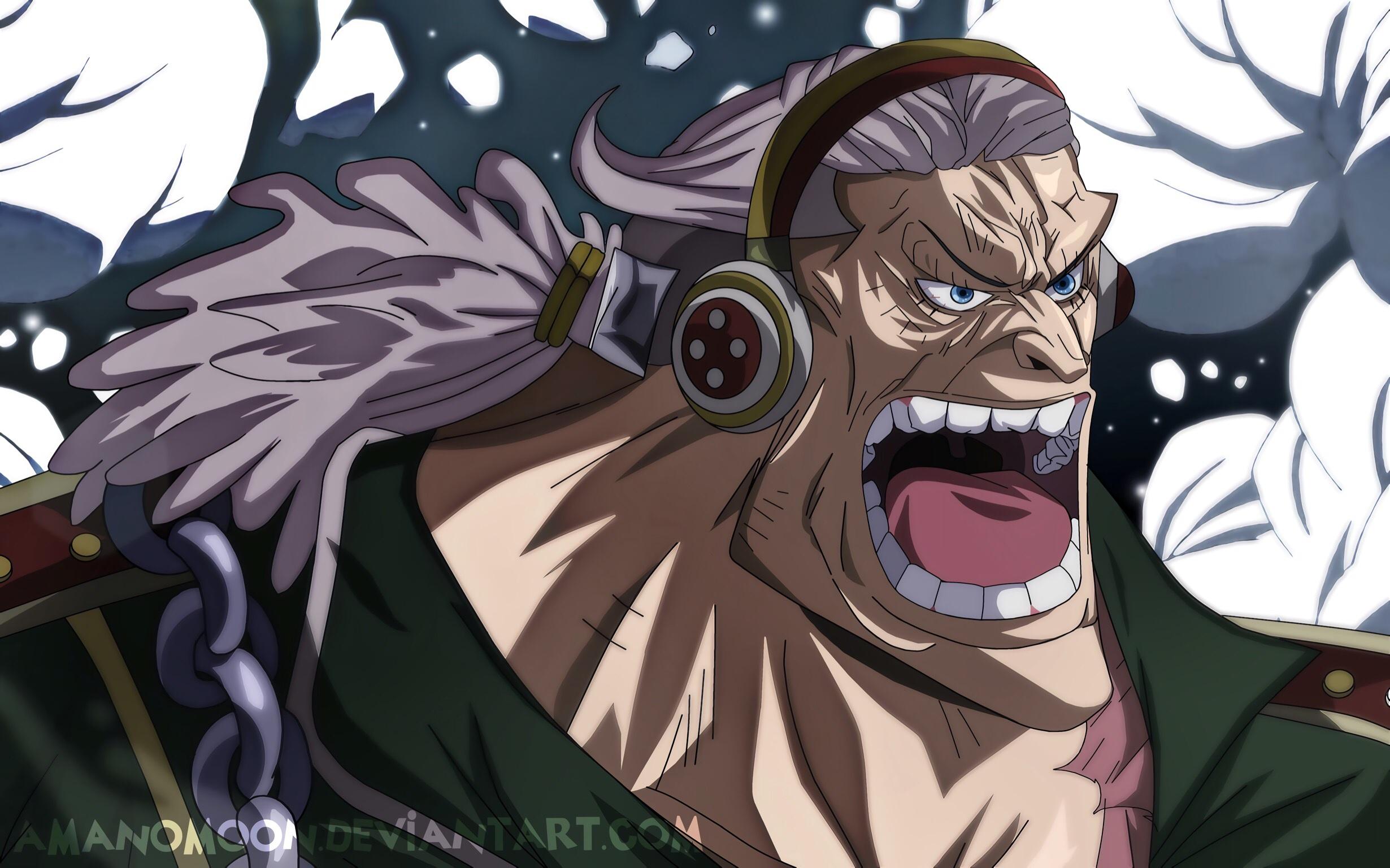 One Piece Film Stampede Douglas Bullet Roger Crew HD