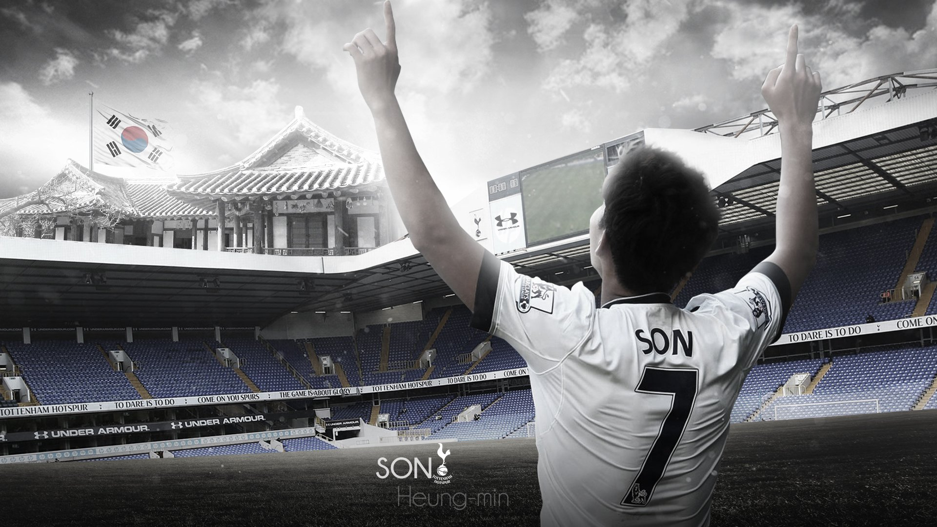 Son Heung Min Hd Wallpaper Background Image 1920x1080 Id 994916 Wallpaper Abyss