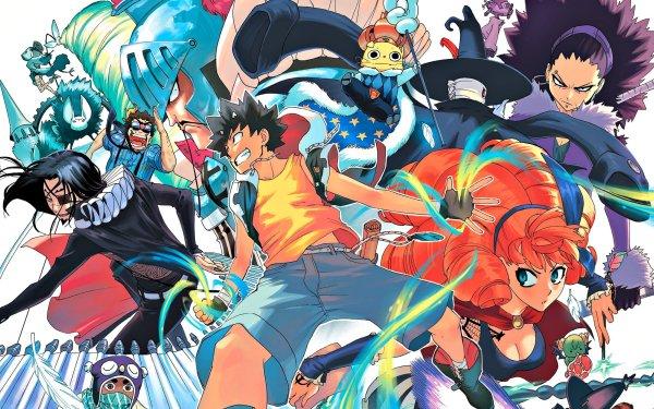 Anime Radiant Seth Mélie Boobrie Alma Grimm Doc Dart Dragunov Hameline Master Lord Majesty HD Wallpaper | Background Image