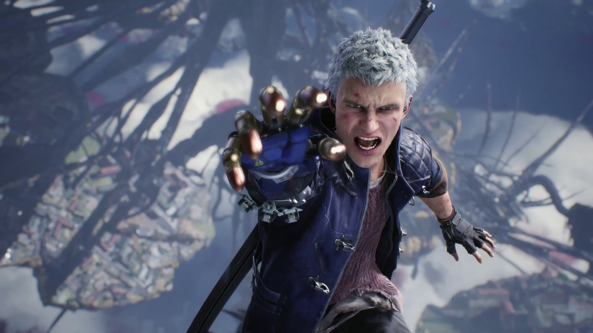 Nero - Devil May Cry 5 HD Wallpaper   Background Image ...