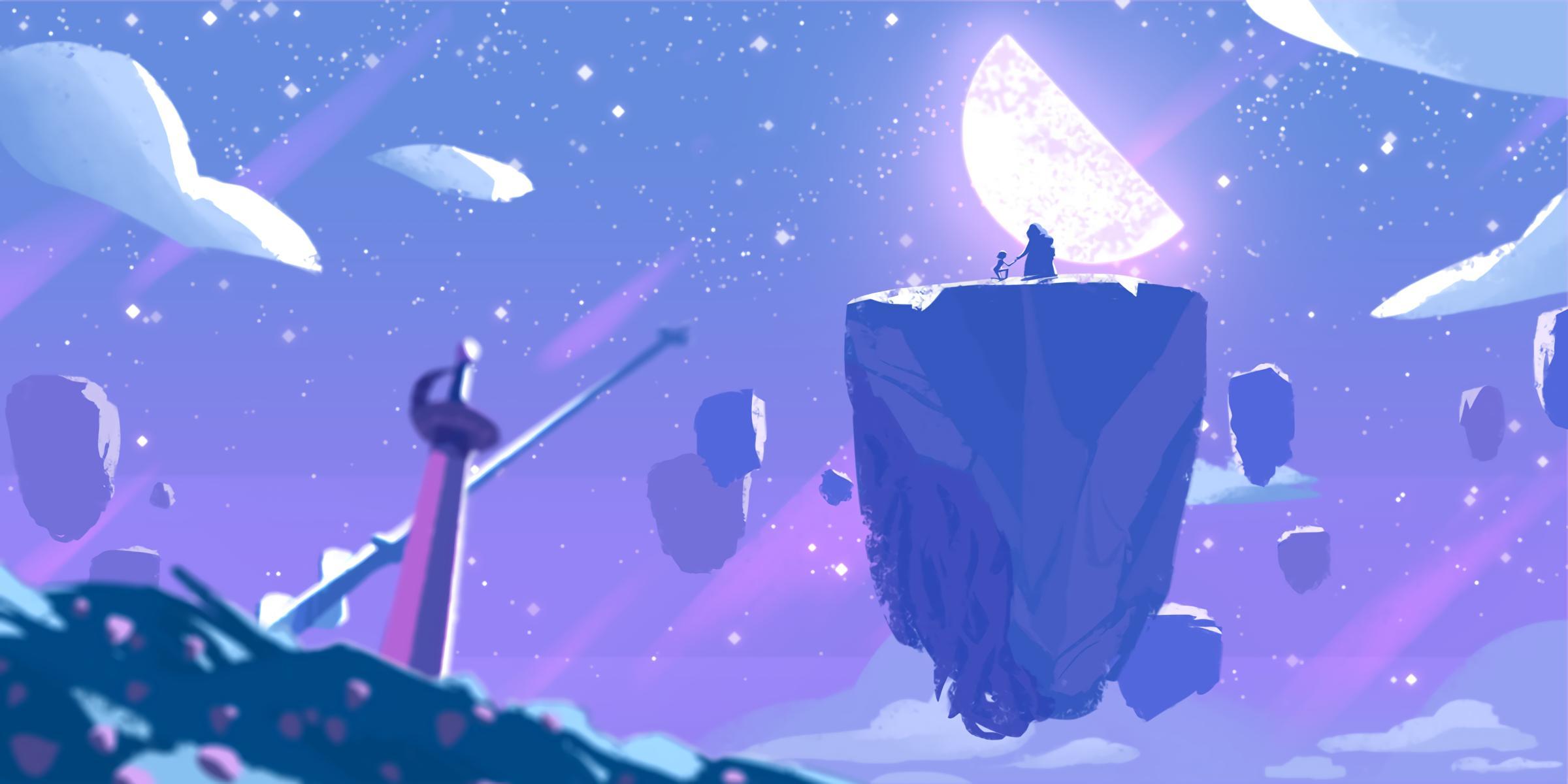 Steven Universe Rose Quartz Fondo De Pantalla Hd Fondo