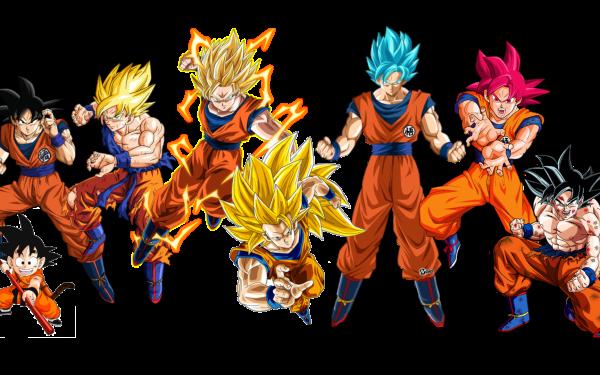 Anime Dragon Ball Z Dragon Ball Goku Super Saiyan Super Saiyan 2 Super Saiyan 3 Super Saiyan Blue Super Saiyan God Ultra Instinct HD Wallpaper | Background Image